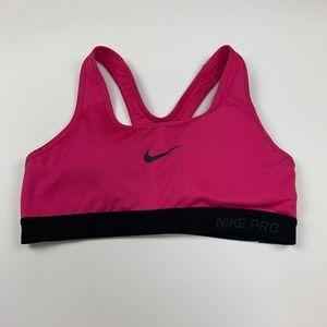 Nike Dri-Fit Sports Bra Size Small Pink